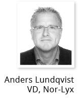 Anders Lundqvist, VD Nor-Lyx